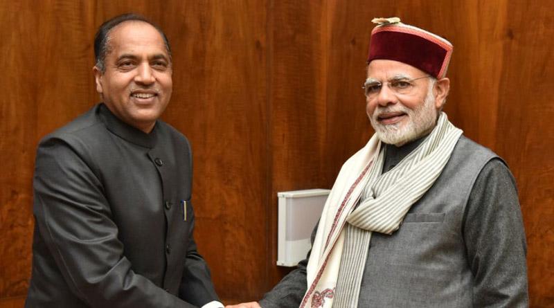 Himachal CM Jai Ram Thakur's visit to Delhi triggers murmurs of change, party leaders deny | Sangbad Pratidin