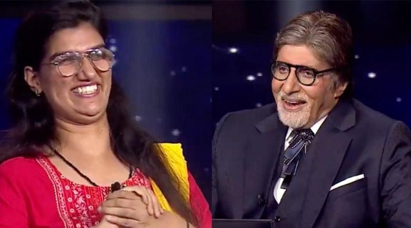 KBC 13 winner Himani Bundela to spend winning amount on visually impaired students   Sangbad Pratidin