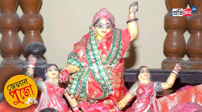 Here is why Devi Durga worshiped as Kantheswari in Katwa | Sangbad Pratidin