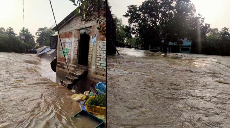 Many village of Patashpur faces flood situation । Sangbad Pratidin