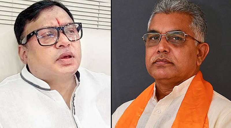 BJP state president Dilip Ghosh speaks over MLA Krishna Kalyani's comment । Sangbad Pratidin