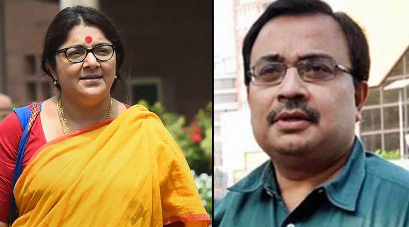 TMC leader Kunal Ghosh thanks to BJP MP Locket Chatterjee । Sangbad Pratidin