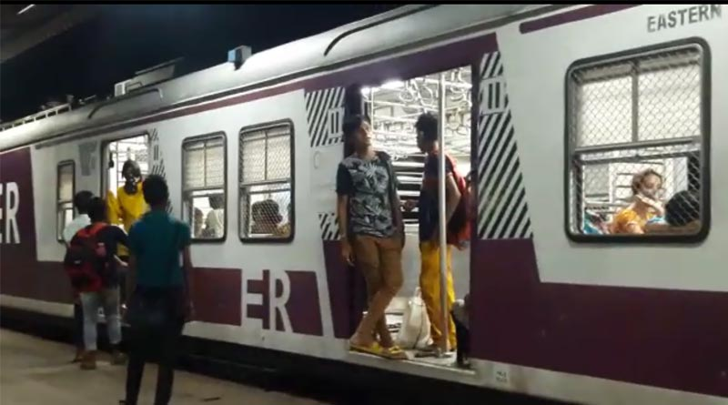 Male passengers allegedly riding on ladies compartment in Staff Special | Sangbad Pratidin