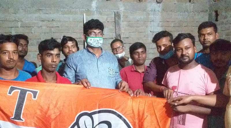 Many BJP leader of Shamshergunj joins TMC | Sangbad Pratidin