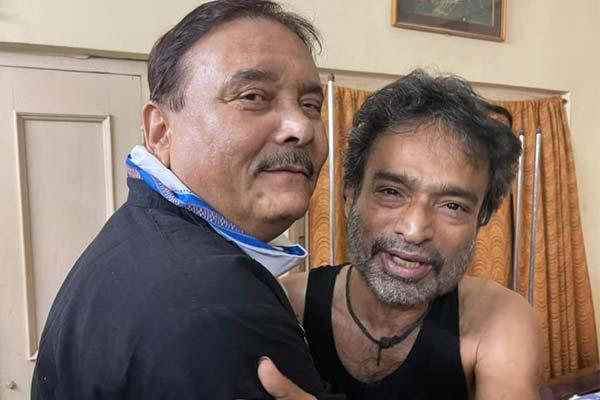 Madan Mitra with Nachiketa