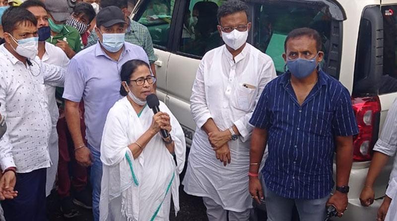 Mamata Banerjee at Bhabanipur ahead of bypoll | Sangbad Pratidin