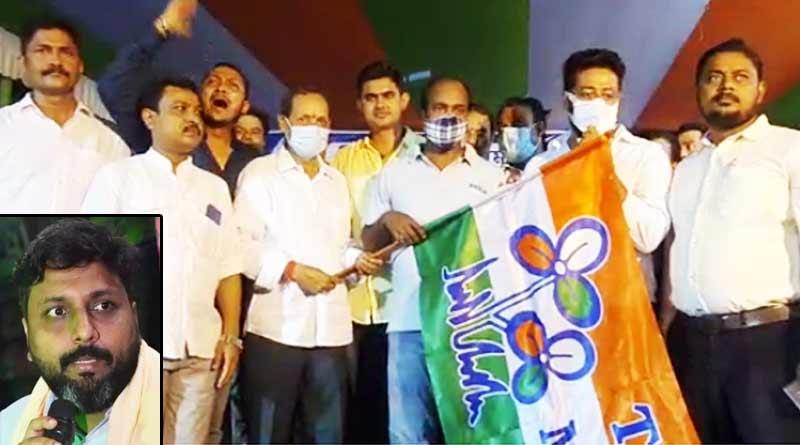 Many BJP worker of titagarh area joins TMC on saturday | Sangbad Pratidin
