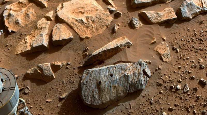 Rock samples collected by Perseverance may be volcanic, indicates ancient water into Mars | Sangbad Pratidin