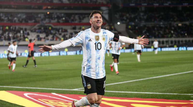World Cup Qualifiers: Argentine superstar Lionel Messi breaks Pele's record with hattrick against Bolivia | Sangbad Pratidin