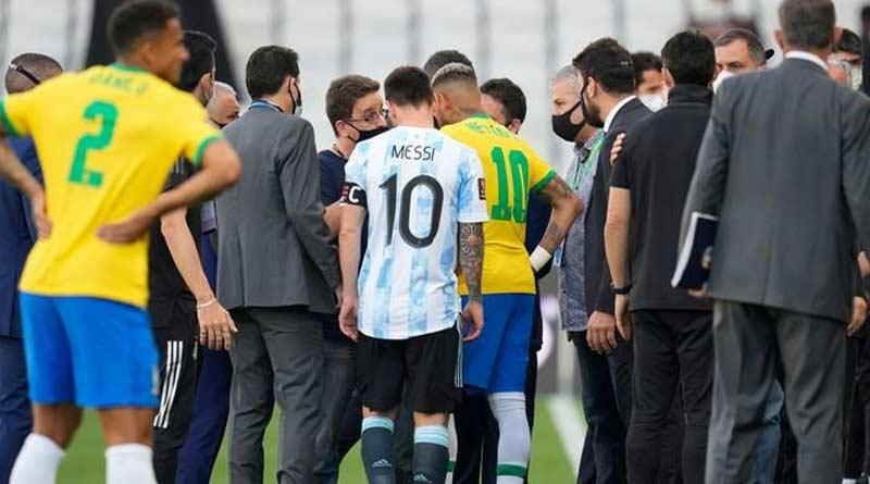 FIFA to investigate Argentina vs Brazil abandoned match   Sangbad Pratidin