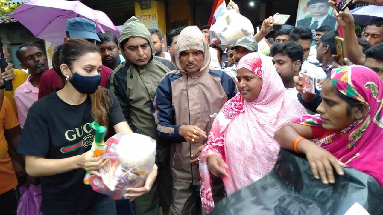 Mimi Chakraborty at Bhangar