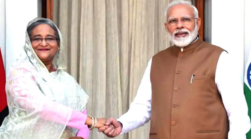 Bangladesh PM Sheikh Hasina sent roses of PM Narendra Modi's birthday | Sangbad Pratidin