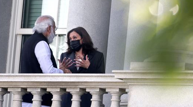 PM Modi presents Kamala Harris, other world leaders with unique gifts from Kashi। Sangbad Pratidin