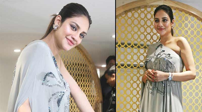 Actress Nusrat Jahan enjoys parenthood with yash Dasgupta | Sangbad Pratidin