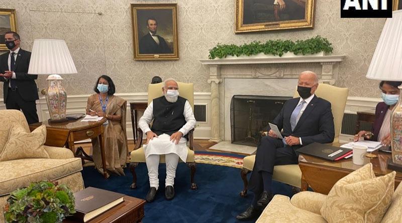 PM Modi meets President Biden on the sidelines on UN meet | Sangbad Pratidin
