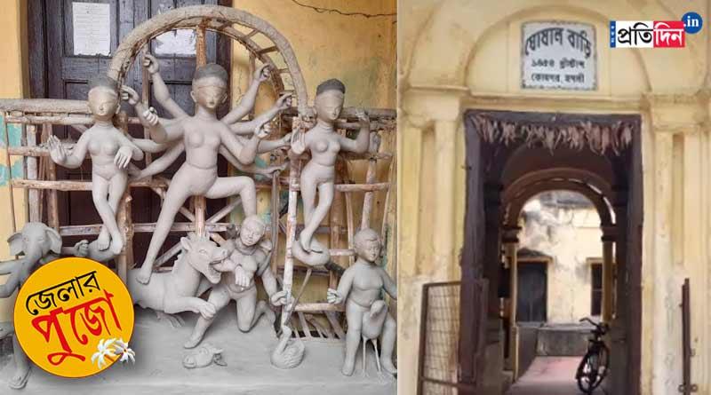 Corona casts gloom over Konnagar centuries old Durga Puja | Sangbad Pratidin