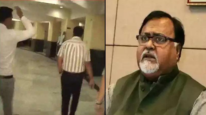 CBI officials reach Shilpa Bhaban to interrogate minister Partha Chatterjee on ponji scheme I-core | Sangbad Pratidin