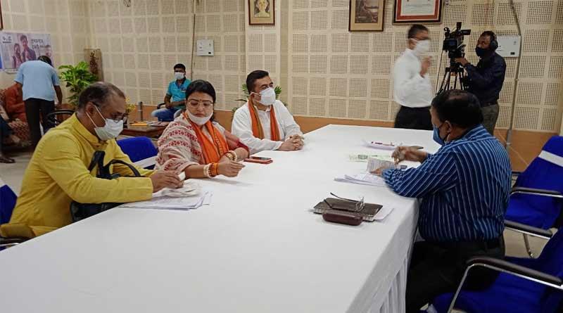 BJP candidate Priyanka Tibrewal