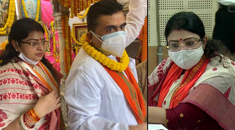 BJP candidate Priyanka Tibrewal files nomination | Sangbad Pratidin