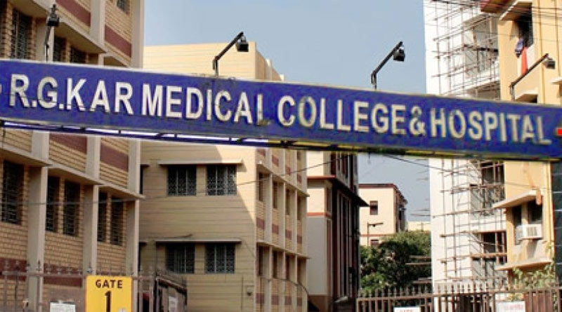 R G Kar Medical College MSVP fell ill during student protest, Hospitalised   Sangbad Pratidin
