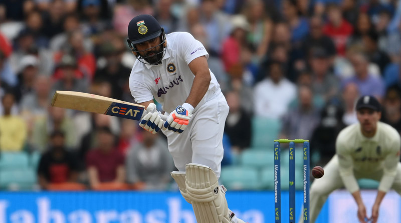 Rohit Sharma has Completes his first-ever overseas Test hundred with a Six | Sangbad Pratidin