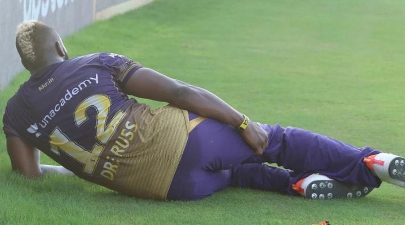 Andre Russell got injured against CSK | Sangbad Pratidin