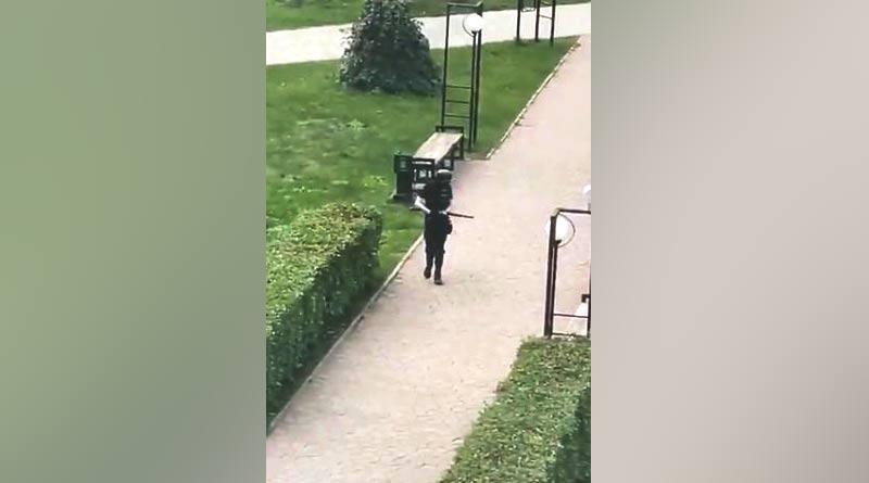 Gunman opens fire in Russia university shooting left 8 dead | Sangbad Pratidin