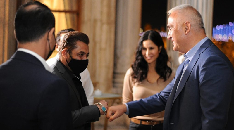 Salman Khan and Katrina Kaif meet Turkish minister   Sangbad Pratidin