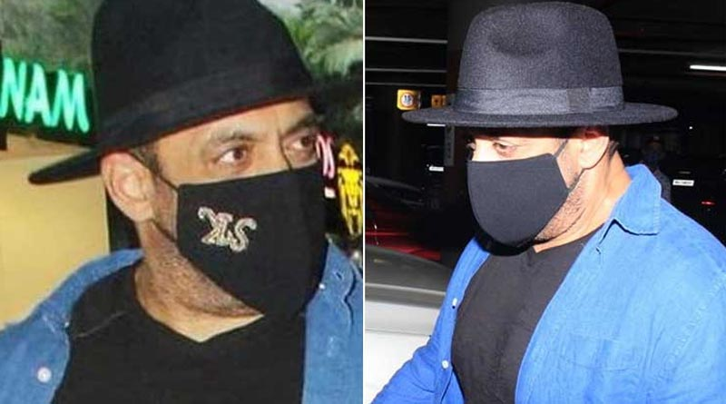 Bollywood actor trolled for wearing 'ulta mask' । Sangbad Pratidin
