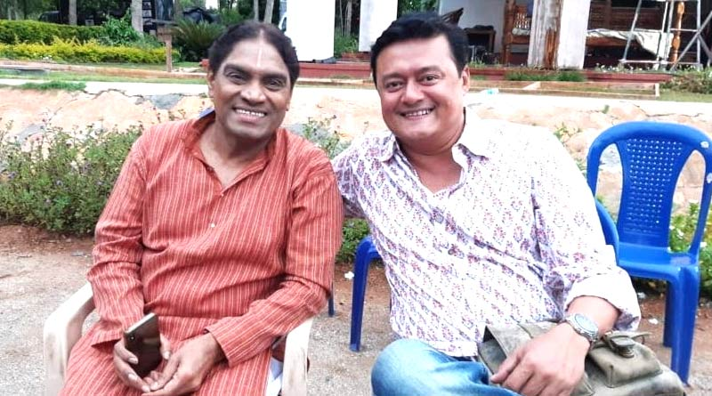Saswata Chatterjee posted picture with Johny Lever | Sangbad Pratidin