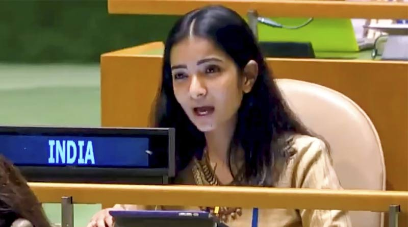 Sneha Dubey the young diplomat hailed for her brilliant response to Pakistan's Imran Khan at UN goes viral | Sangbad Pratidin