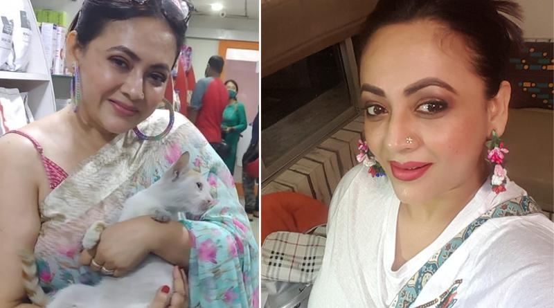 Actress Sreelekha Mitra's Adoption appeal for Kitten | Sangbad Pratidin