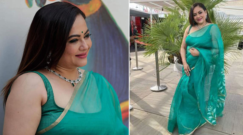 Sreelkha Mitra gave sharp reply on troll | Sangbad Pratidin