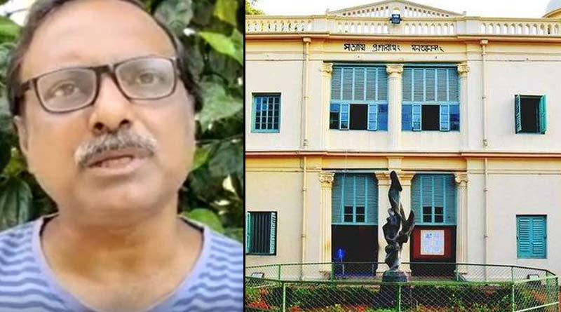 Professor of Visva Bharati university Sudipta Bhattacharya's suspension order extends for next month । Sangbad Pratidin