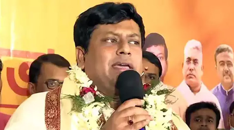 Here are the reasons why Sukanta Majumdar is elected as BJP state president | Sangbad Pratidin