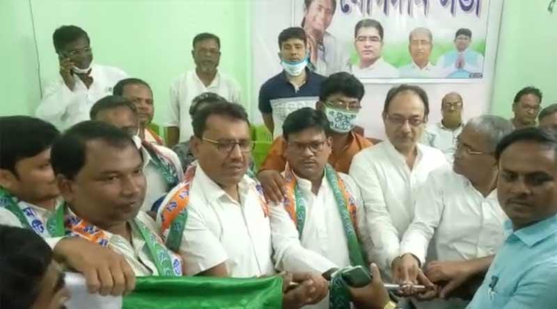Many congress worker of Murshidabad joins TMC | Sangbad Pratidin