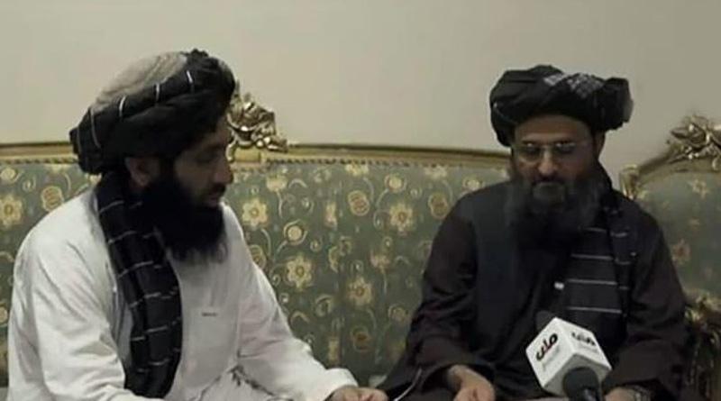 Taliban leader Mullah Baradar appears in an interview। Sangbad Pratidin