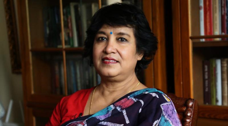 Taslima Nasrin new tweet sparks controversy again | Sangbad Pratidin