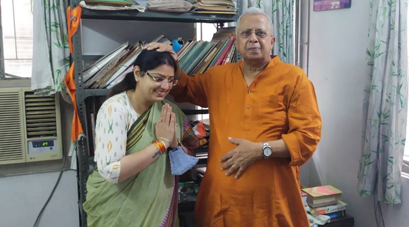 WB By-Election: BJP candidate of Bhabanipur Priyanka Tibrewal starts campaign from Kalighat | Sangbad Pratidin