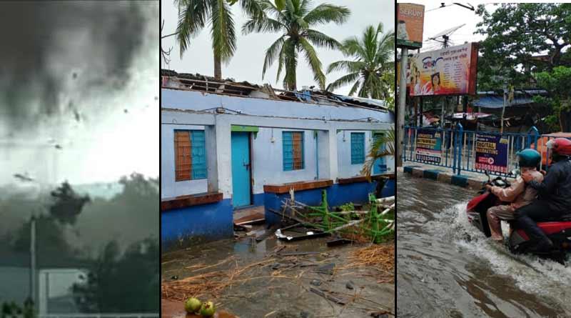 Kolkata and adjacent area in waterlogged after heavy rain । Sangbad Pratidin