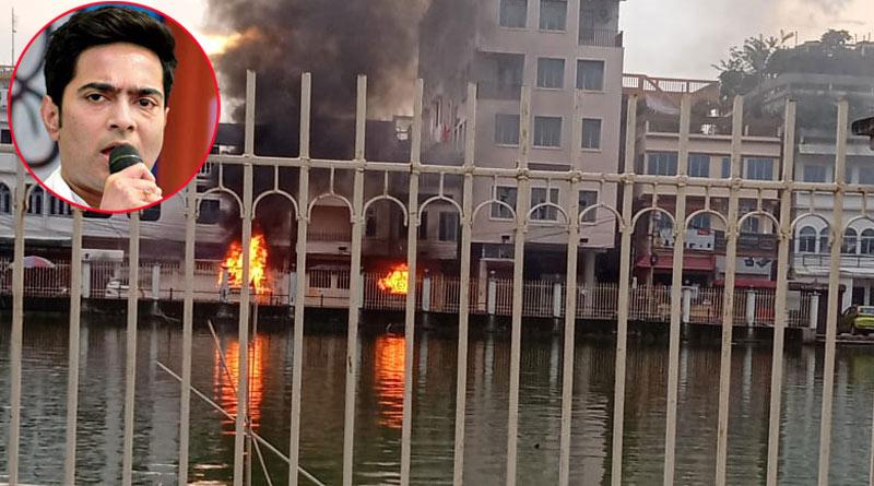 Clashes between CPM and BJP in Tripura   Sangbad Pratidin