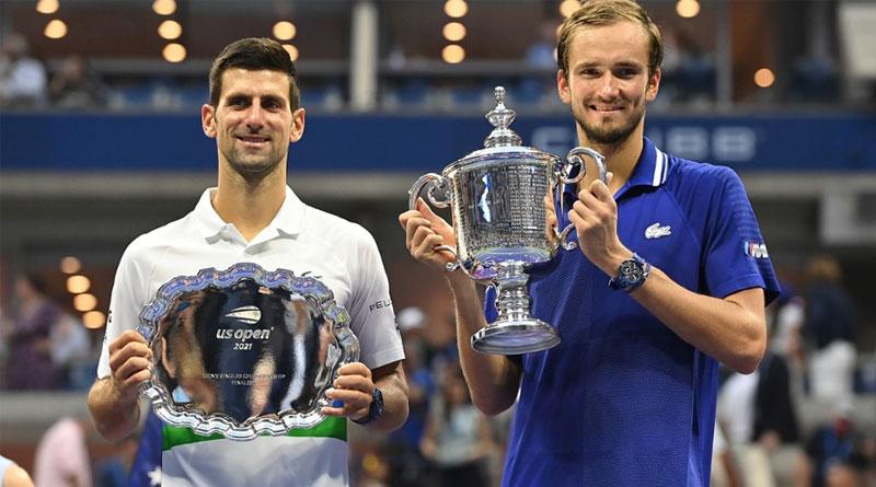 Novak Djokovic denied calendar grand slam as Daniil Medvedev thrashes world No 1 in US Open final | Sangbad Pratidin
