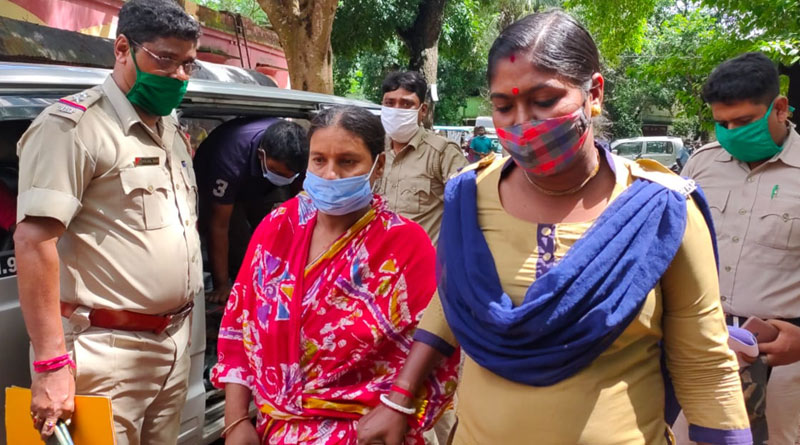 Wife murdered husband for extra marital affair in North 24 Pargana   Sangbad Pratidin