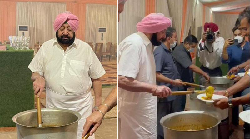 Mutton khara pishori, murg korma and much more: Punjab CM cooks meal for Olympians, serves them | Sangbad Pratidin