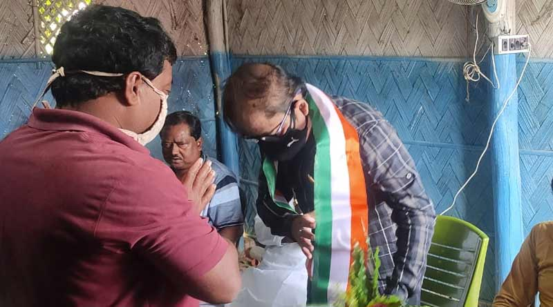 BDO of Purba Bardhaman's Ausgram attends a TMC event, Controversy started | Sangbad Pratidin