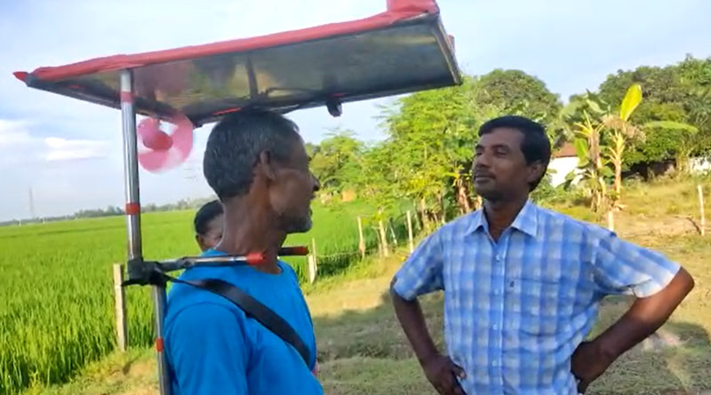 Mechanic From South Dinajpur builts new hat for farmers | Sangbad Pratidin
