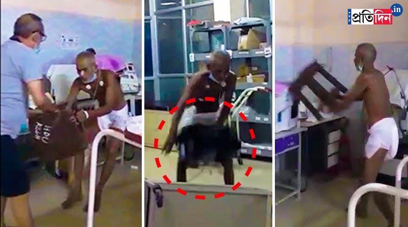 Patient vandalised Katwa hospital after turned violent | Sangbad Pratidin
