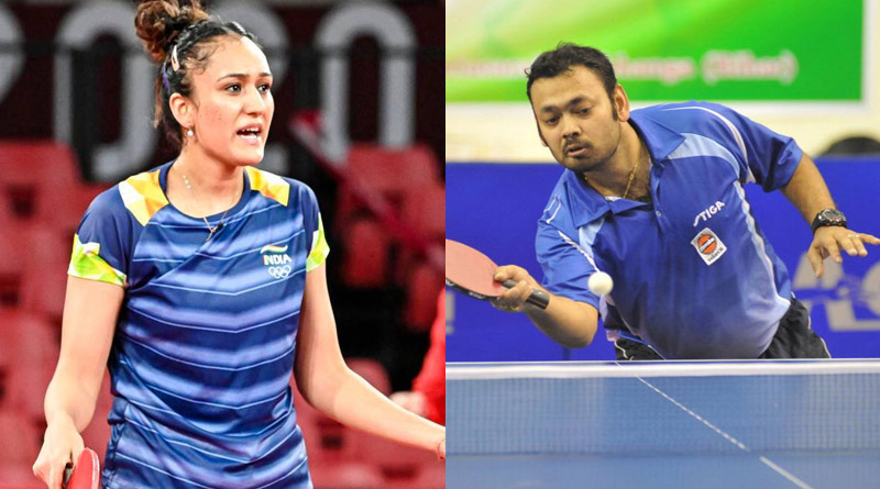 Table Tennis Star Manika Batra Alleged National Coach had Asked Her To Concede Match   Sangbad Pratidin