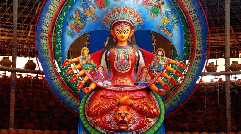 Naktala Udayan Sangha will depict migrants in Durga Puja this year | Sangbad Pratidin
