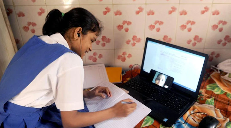 Online education seems to be failed to fullfill target in India says Survey | Sangbad Pratidin